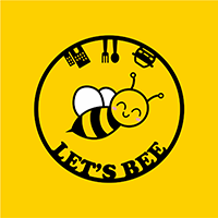 logo lets bee